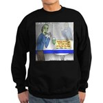 Zombie Restaurant Employees Sweatshirt (dark)