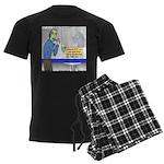 Zombie Restaurant Employees Men's Dark Pajamas