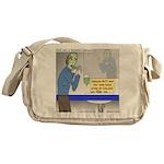 Zombie Restaurant Employees Messenger Bag
