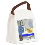 Zombie Restaurant Employees Canvas Lunch Bag