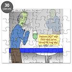 Zombie Restaurant Employees Puzzle