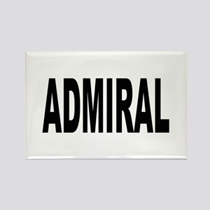 Admiral Rectangle Magnet