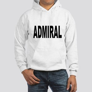 Admiral (Front) Hooded Sweatshirt