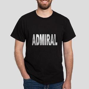 Admiral (Front) Dark T-Shirt