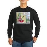 Zombie Punch Long Sleeve Dark T-Shirt