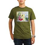 Zombie Punch Organic Men's T-Shirt (dark)