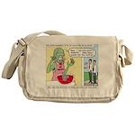 Zombie Punch Messenger Bag