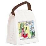 Zombie Punch Canvas Lunch Bag