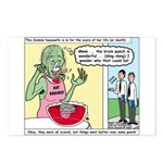 Zombie Punch Postcards (Package of 8)