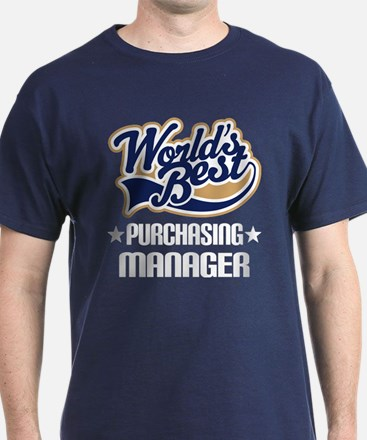 Purchasing Manager (Worlds Best) T-Shirt