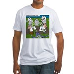 Zombie Surprise Fitted T-Shirt