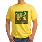 Zombie Surprise Yellow T-Shirt