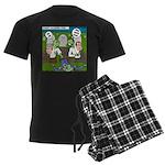 Zombie Surprise Men's Dark Pajamas