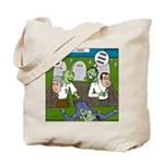 Zombie Surprise Tote Bag