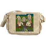 Zombie Surprise Messenger Bag