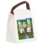 Zombie Surprise Canvas Lunch Bag