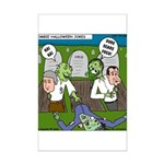 Zombie Surprise Mini Poster Print