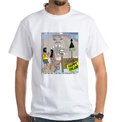 Zombie Island White T-Shirt
