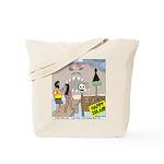 Zombie Island Tote Bag