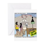 Zombie Island Greeting Cards (Pk of 10)