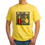 Zombie Vegan Yellow T-Shirt