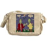 Zombie Vegan Messenger Bag