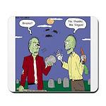 Zombie Vegan Mousepad