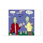 Zombie Vegan Postcards (Package of 8)
