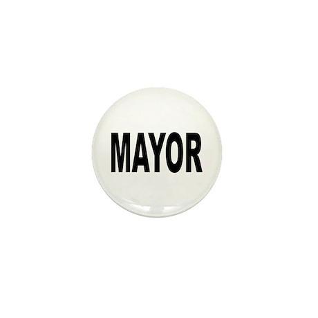 Mayor Mini Button (10 pack)