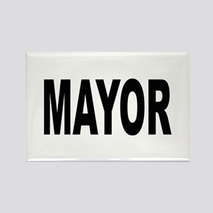 Mayor Rectangle Magnet