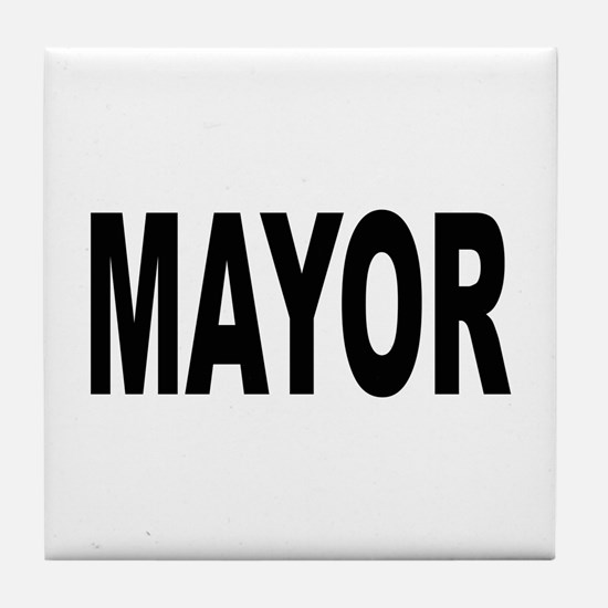 Mayor Tile Coaster