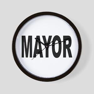 Mayor Wall Clock