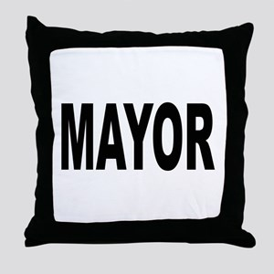 Mayor Throw Pillow