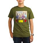 Zombie Improv Organic Men's T-Shirt (dark)