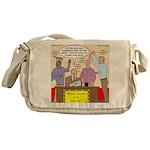 Zombie Improv Messenger Bag