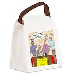 Zombie Improv Canvas Lunch Bag