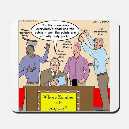 Zombie Improv Mousepad