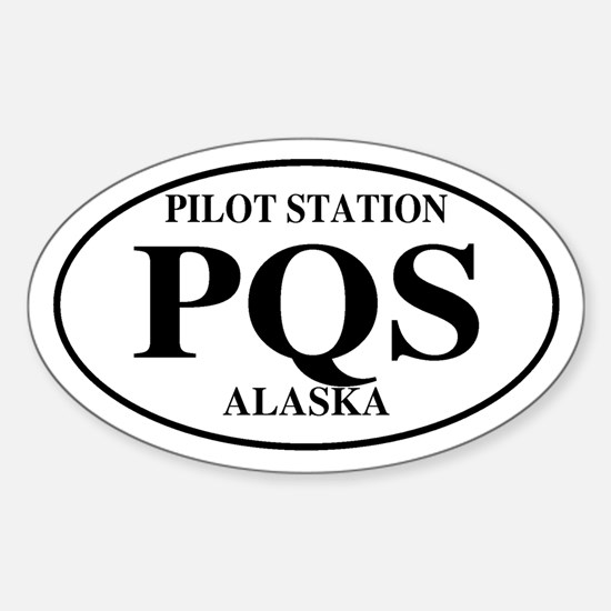 Pilot Station Oval Decal