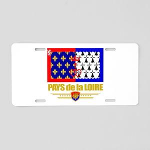 Pays de la Loire (Flag 10) Aluminum License Pl