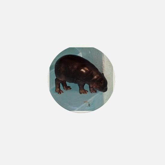 baby hippo Mini Button