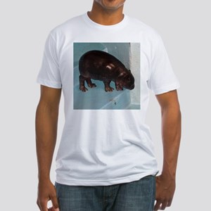 baby hippo Fitted T-Shirt