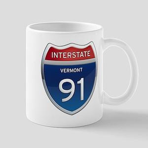 Interstate 91 Mugs