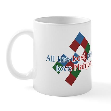 mahjong_all_the_best_2000 Mugs