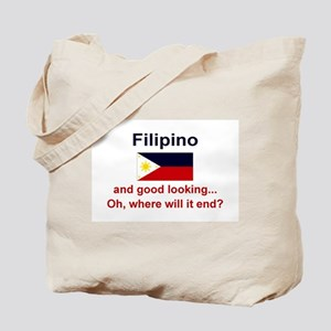 Good Looking Filipino Tote Bag