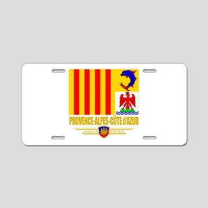 Provence-Alpes-Cote (Flag 10) Aluminum License