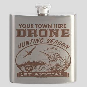 Drone Hunting Season Flask