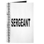 Sergeant Journal