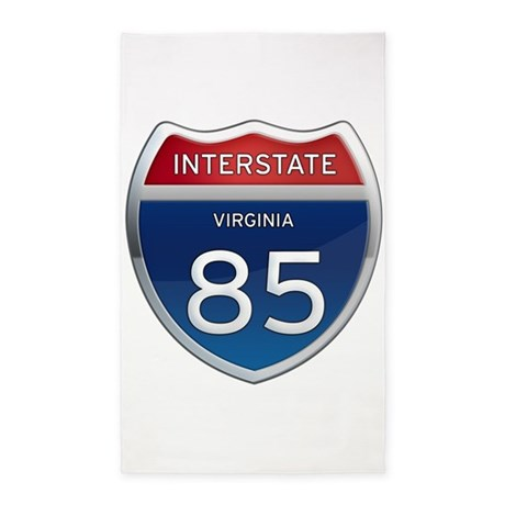 Interstate 85 3'x5' Area Rug