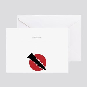 Agitated State Greeting Card