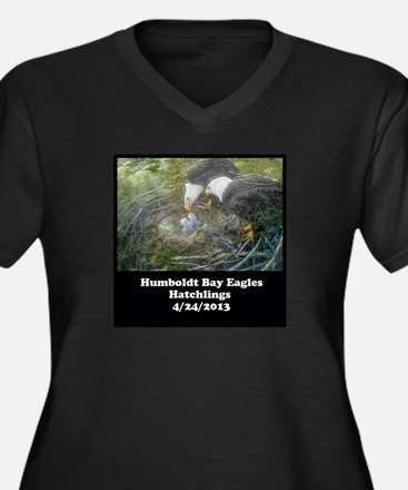 Hatchlings HBE VNeck WOMEN'S PLUS SIZE TShirt P